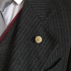 Boutonnière bouton Clet - Les Boutonnières de Joseph