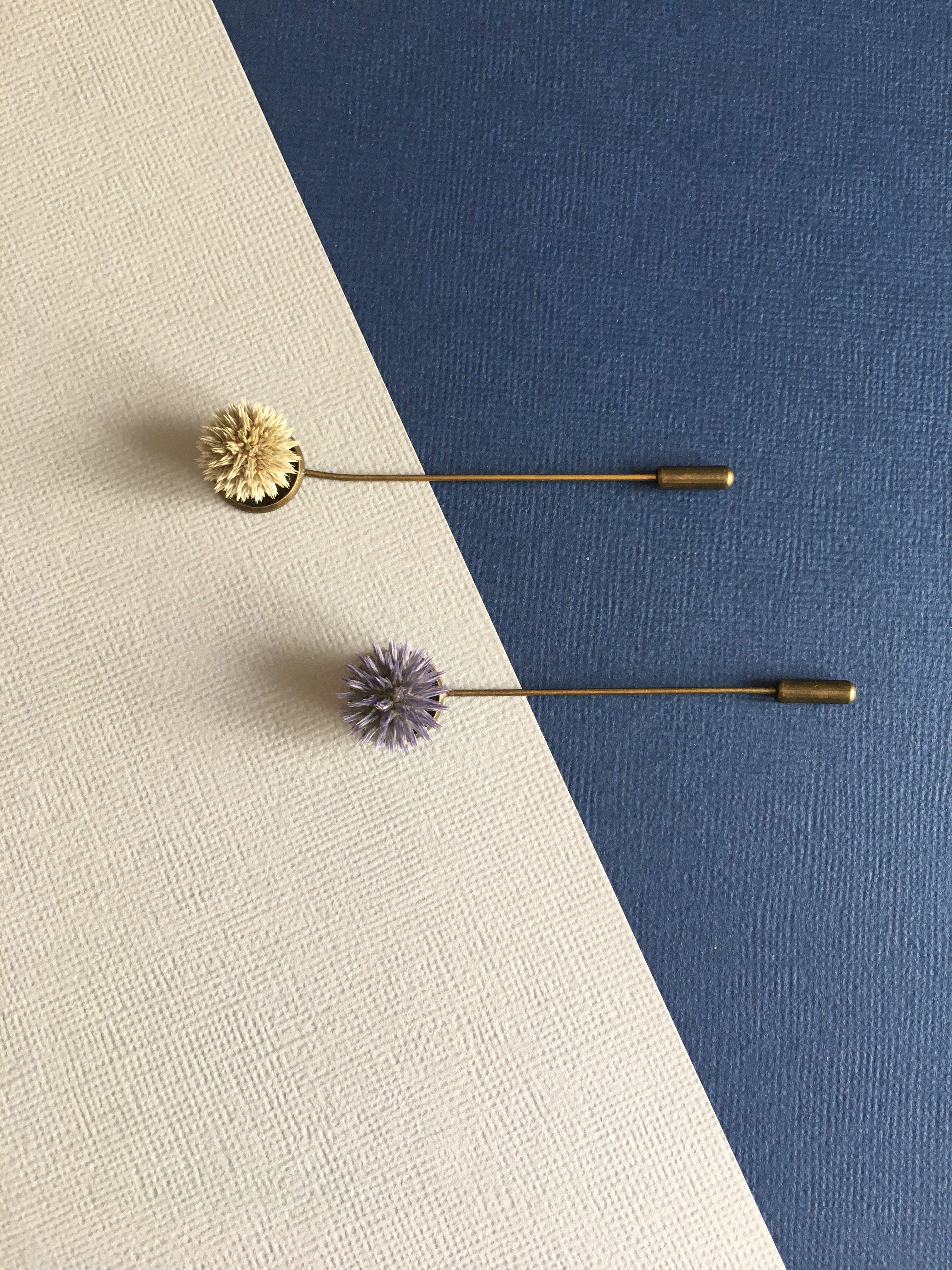 Boutonnières boutons - Fleurs séchées