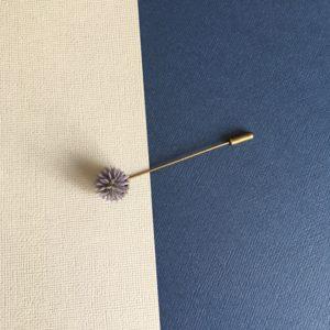 Boutonnière bouton Celse en fleurs séchées