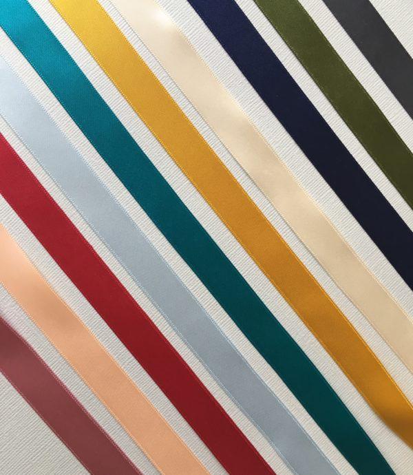 Couleurs des rubans pour boutonnière - Personnaliser votre boutonnière